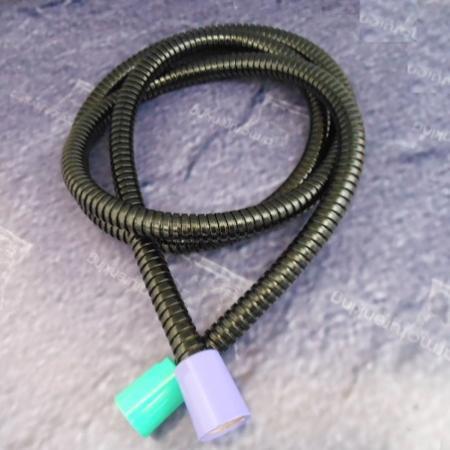 brauseschlauch 140 cm hansgrohe axor uno gr n schwarz violett 031140 flash. Black Bedroom Furniture Sets. Home Design Ideas