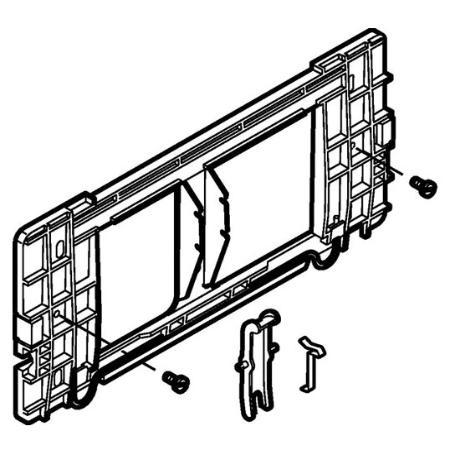 geberit ersatzteil 240068001 befestigungsrahmen zu bet tigungsplatte highline. Black Bedroom Furniture Sets. Home Design Ideas