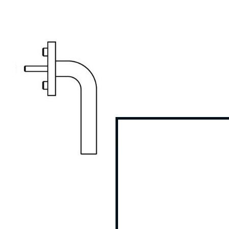 hewi fenstergriff 111fg 6 98 signalweiss vierkant 7 x 40 mm 90 grad rastung. Black Bedroom Furniture Sets. Home Design Ideas