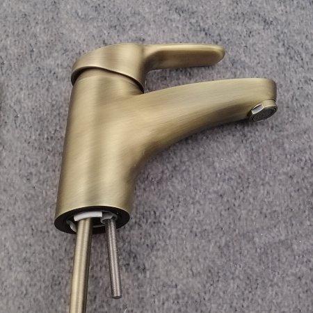 Hansa Hansamix Waschtischbatterie Bronze 01092183 Br