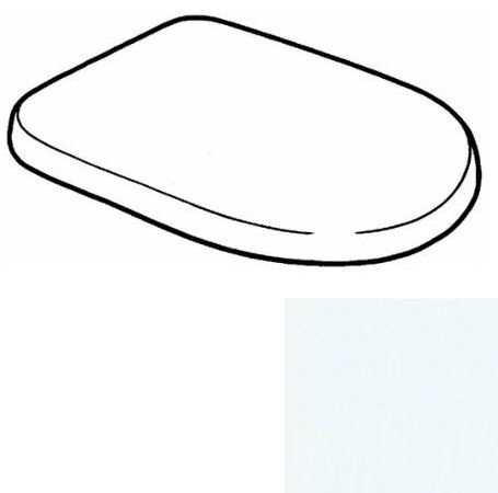 keramag mango wc sitz g is 573800030 scharniere chrom. Black Bedroom Furniture Sets. Home Design Ideas