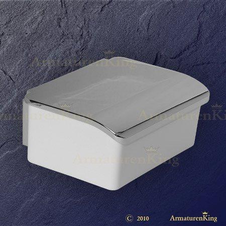 keuco feuchtpapierbox 11667013000 elegance 11667 verchromt weiss. Black Bedroom Furniture Sets. Home Design Ideas