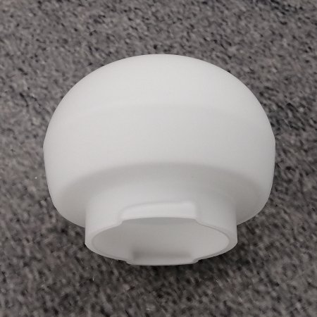keuco leuchtenglas 07805009000 b3 weiss matt f r spiegelschrank t l. Black Bedroom Furniture Sets. Home Design Ideas
