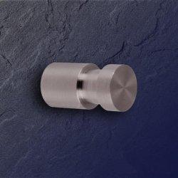 Phos bad haken hg 16 30 edelstahl matt 30 x 16 mm mit nut for Bad accessoires edelstahl matt