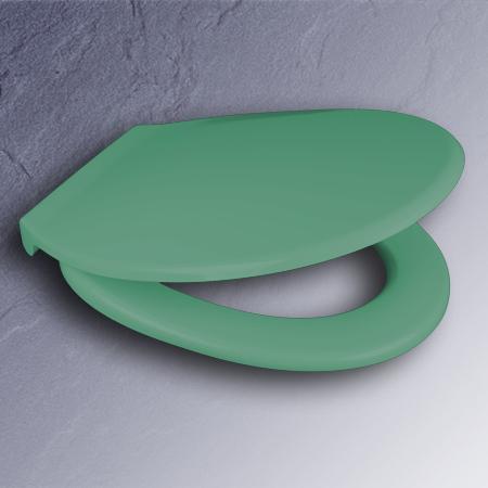 pagette wc sitz exclusiv mento gr n scharniere edelstahl. Black Bedroom Furniture Sets. Home Design Ideas