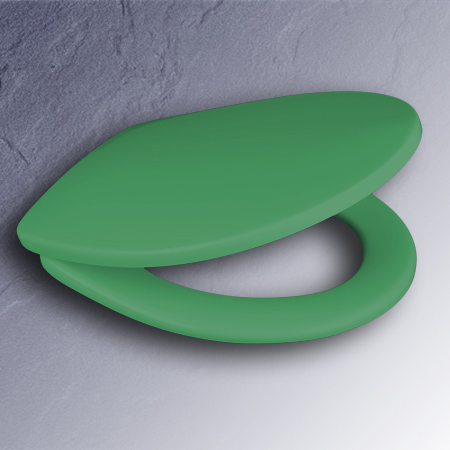 pressalit wc sitz schilf gr n scharniere edelstahl 190000. Black Bedroom Furniture Sets. Home Design Ideas